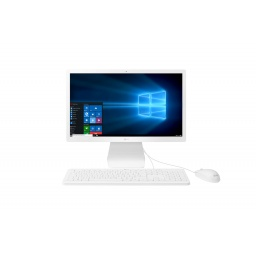 ALL IN ONE LG 22V280 L INTEL QC 2.4GHZ 4GB 500GB 21.5 FULL HD WIN10