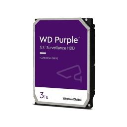 "DISCO DURO WD 3TB PURPLE 3.5"" SATA3 6.0GBPS DVR"