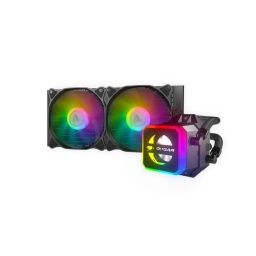 REF LIQUIDA CPU COUGAR HELOR 240 RGB INTEL AMD