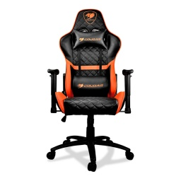 SILLA GAMER COUGAR ARMOR ONE ORANGE RECLINABLE 180 HASTA 120KG