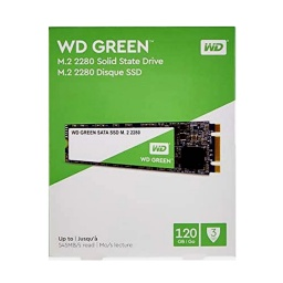 SOLIDO SSD M.2 120GB WD 2280 GREEN PARA PC O NOTEBOOK