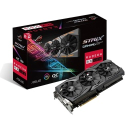 TARJETA DE VIDEO ASUS RX580 ROG STRIX 8GB DDR5 OC EDITION