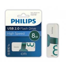PENDRIVE PHILIPS 8GB CITI USB 2.0