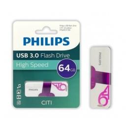 PENDRIVE PHILIPS 64GB CITI USB 3.0