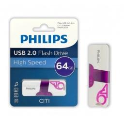 PENDRIVE PHILIPS 64GB CITI USB 2.0