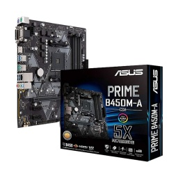 MOTHERBOARD ASUS PRIME B450M-A  AMD AM4