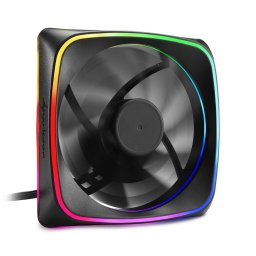 FAN COOLER VENTILADOR SHARKOON RGB SHARK LIGHTS 120MM 20 LEDS