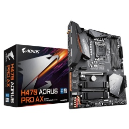 MOTHERBOARD GIGABYTE H470 AORUS PRO AX 10MA S1200 INTEL