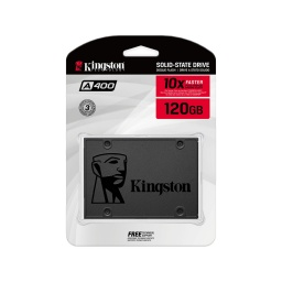 SOLIDO SSD KINGSTON 120GB A400 SATA3 6.0GBPS