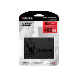 SOLIDO SSD KINGSTON 480GB A400 SATA3 6.0GBPS