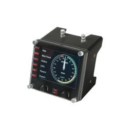 CONTROLADOR DE SIMULACION DE PANEL LCD SAITEK LOGITECH G MULTI-INSTRUMENTO PROFESIONAL