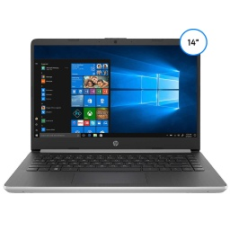 NOTEBOOK HP 14-DQ1033CL QUAD CORE I5 1035G4 12GB 256GB 14 FHD BT WIN10 NEGRO