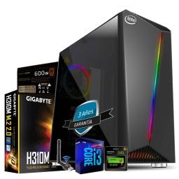 PC GAMER INTEL CORE I3 9100F 16GB SSD 240GB RX 570 8GB GDDR5 WIFI