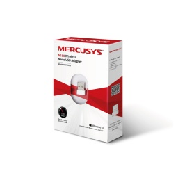 ADAPTADOR USB WIFI MERCUSYS MW150US 150MBPS