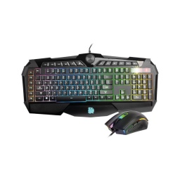 COMBO THERMALTAKE CHALLENGER PRIME TECLADO Y MOUSE RGB