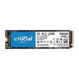SOLIDO CRUCIAL P2 SSD NVME 500GB M.2 PCIE 2300MBPS