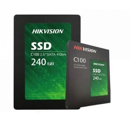 SSD SOLIDO HIKVISION 240GB C100 2.5 SATA III 3D NAND