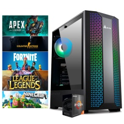 PC Gamer AMD Ryzen 5 3600 A520M 16Gb 3000Mhz Ssd 480Gb Gtx1660 Super 6GB Gddr 6 Dp HDMI Wifi Win10