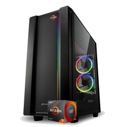 PC Gamer AMD Ryzen 7 3700x X570 16Gb 3200Mhz RGB Nvme 1Tb Rtx 3080 10GB Gddr6 Dp HDMI Win10