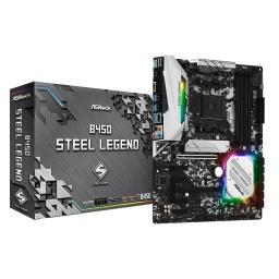 MOTHERBOARD ASROCK B450 STEEL LEGEND AM4