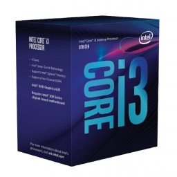 PROCESADOR CPU INTEL CORE I3 8100 8VA QUAD CORE 3.6GHZ