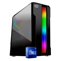 PC Gamer Intel Core i7 10700f 10ma Gen 8Gb Ddr4 2666 Ssd 240Gb Gtx1650 4Gb Gddr6 HDMI Wifi W10