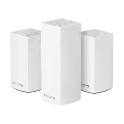 Sistema Linksys Velop Wifi Intelligent Mesh Triple Banda Ac4800 3Pk 2.4Ghz 5Ghz