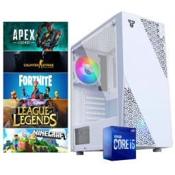 PC Gamer Intel Core i5 10400f 16Gb Ssd 480Gb Gtx1660 6GB Gddr6 Dp HDMI Wifi Win10