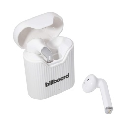 Auricular Inalambrico Billboard Bluetooth 5.0 Base De Carga Blanco