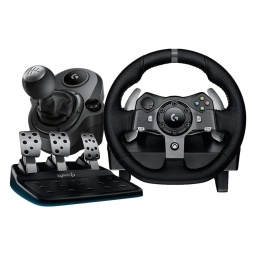 Palanca y Volante Logitech G920 Con Pedales Driving Force Pc Xbox One