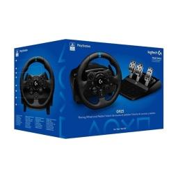 Volante Y Pedalera Logitech G923 Trueforce Para PC Sony PS4 y PS5 Mejor Simulador