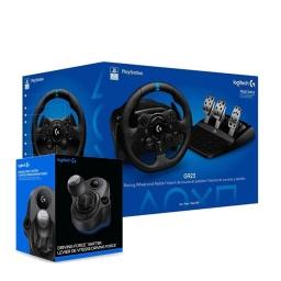 Volante Pedalera y Palanca Logitech G923 Para PC Play Station Sony Ps3 Ps4 Ps5