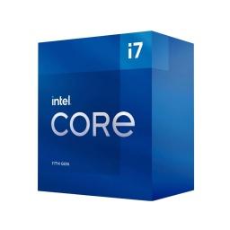 Procesador CPU Intel Core i7 11700 11va Gen Octa Core 2.5 a 4.9Ghz Socket S1200 Con Fan