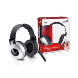 Auriculares Genius Hs05A 3.5mm Gamer Pc Ps5 Xbox Streaming