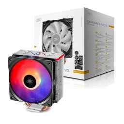 Disipador Cooler Deepcool Gammaxx GTE V2 RGB 120mm Para Intel S1200 y AMD Am4