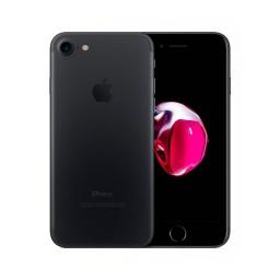 Celular Iphone 7 128Gb Lte Libre Certificado Preowned Con Auriculares Cargador y Cable Lightning Negro