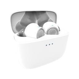 Auriculares Logic Tw10 Wireless Bluetooth 10Mts Inalámbricos Blancs Con Estuche Cargador