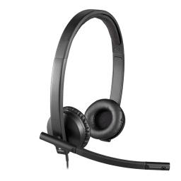 Auriculares Logitech H570e Stereo Headset Con Microfono Usb