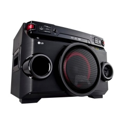 MINI COMPONENTE LG XBOOM OM4560 220W USB BLUETOOTH NFC AUTO DJ