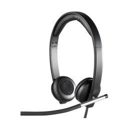Auriculares Logitech H650E Stereo Headset Con Microfono Usb