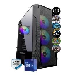 PC Gamer Intel Core i3 10105f 8Gb Ddr4 2666 Ssd 256Gb Gt1030 2Gb Gddr5 HDMI Wifi W10