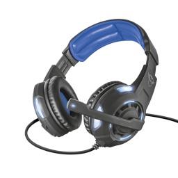 Auricular Gaming Trust Gxt 350 Radius 7.1ch Surround Para PC Notebook y Laptops Conexion Usb