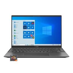 Notebook Asus Zenbook Ryzen 5 4.0Ghz 8Gb Nvme 256Gb 14 Fhd Ips Video Mx450 2GB Teclado Iuminado Wifi6 Bt Win10