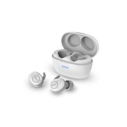 Auriculares Philips True Wireless Upbeat Bluetooth 5.0 Inalámbricos Blanco Con Estuche Cargador