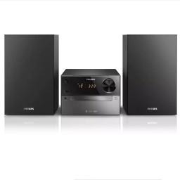 Minicomponente De Musica Philips Btm2310  Con Bluetooth Usb Fm Cd Mp3-Cd