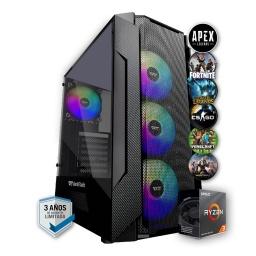 PC Gamer AMD Ryzen 3 3200G Ram 16Gb 2666Mhz Ssd 480Gb Rx 550 4Gb Gddr5 Wifi HDMI Incluye Juegos