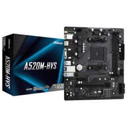 Motherboard Asrock A520M-Hvs Am4 Amd Ryzen Ddr4 Hdmi D-Sub Usb 3.2