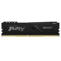 Memoria Ram Kingston Fury Beast 8Gb Ddr4 2666Mhz CL16 1.2V