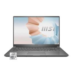 Notebook Msi Modern B10mw Intel Core i3 10110u 4.1Ghz Ram 8Gb Nvme 128Gb Pantalla 14 Full HD Wifi Bt Win10