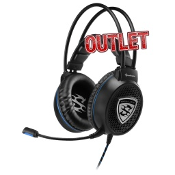 AURICULARES GAMER SHARKOON SKILLER SGH1 GAMER PC XBOX ONE PS4